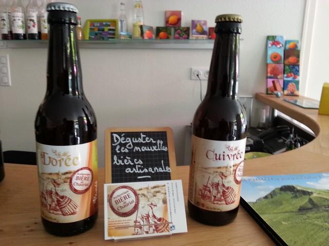 Bière artisanale Enclos du Puy Mary