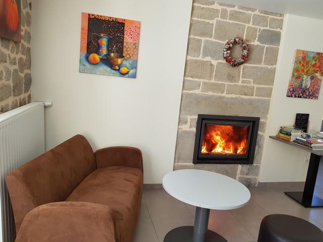Coin feu à l'Enclos du Puy Mary