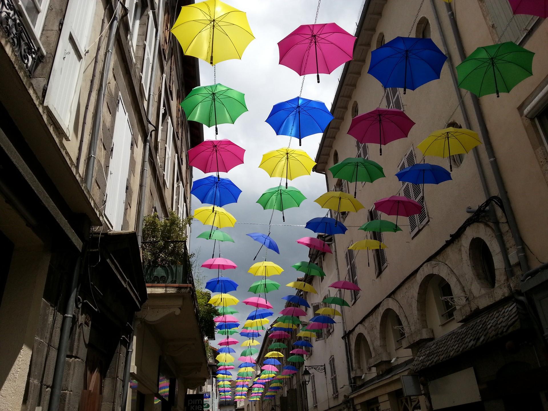 Parapluies d'Aurillac