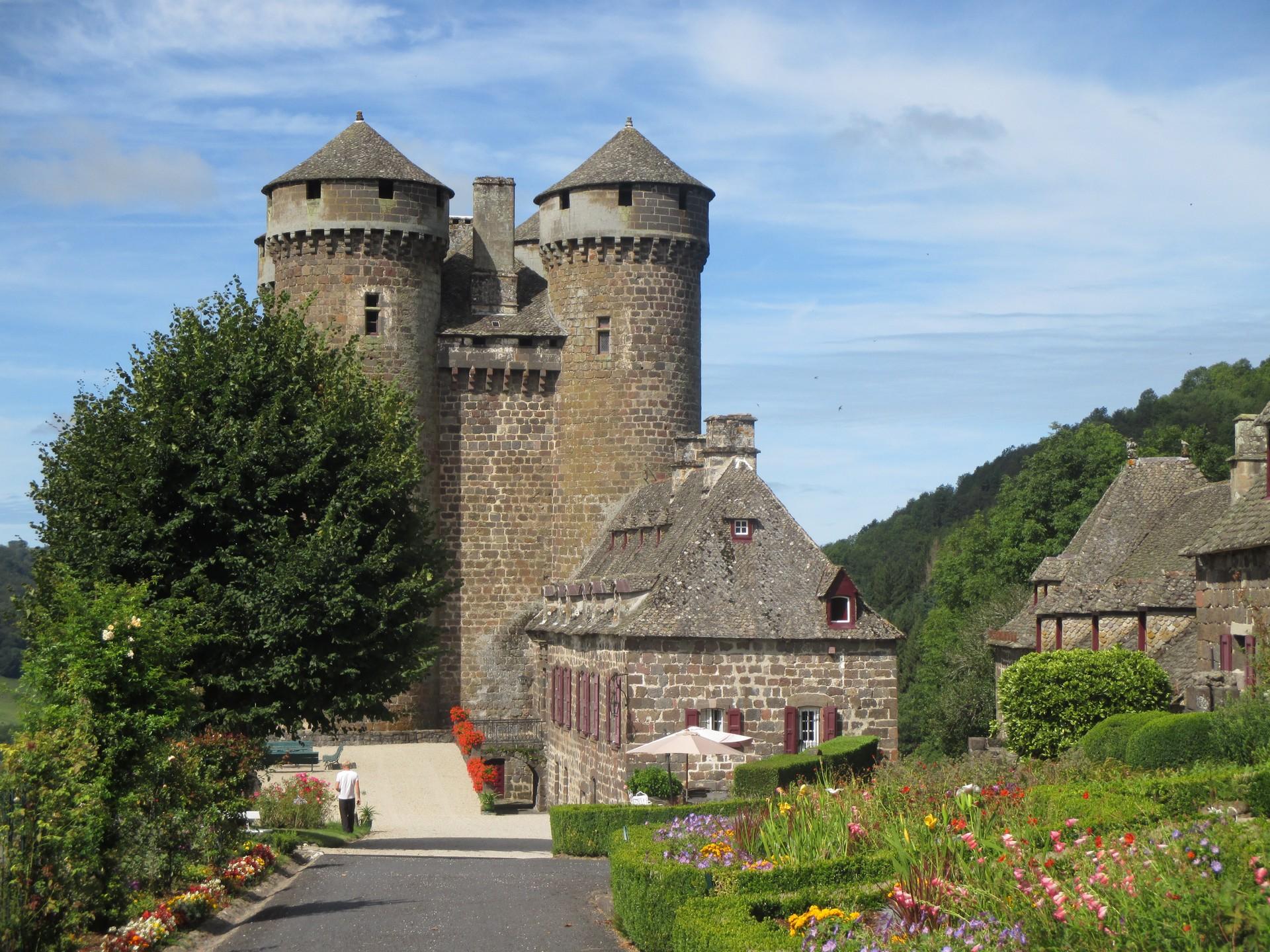 Chateau d'Anjony à Tournemire