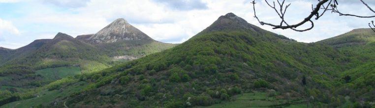 Le Puy Griou au Printemps