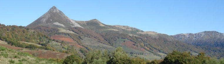 Le Puy Griou à l'automne