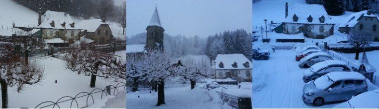 l'Enclos du Puy Mary hotel 3 étoiles en hiver