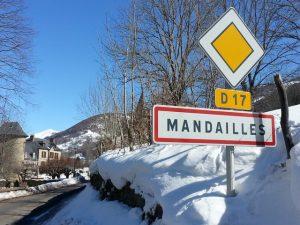 Arrivée à Mandailles
