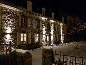 Enclos du Puy Mary en hiver