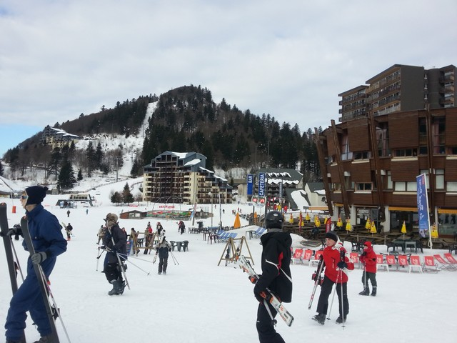 Skier au Lioran