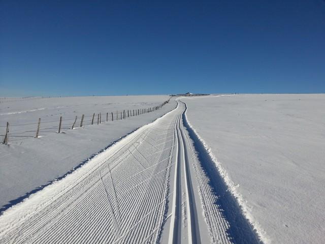 Ski de fond col du legal