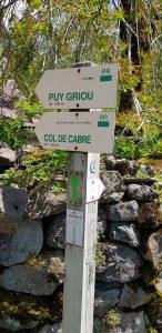 Sentier randonnée autour de Mandailles