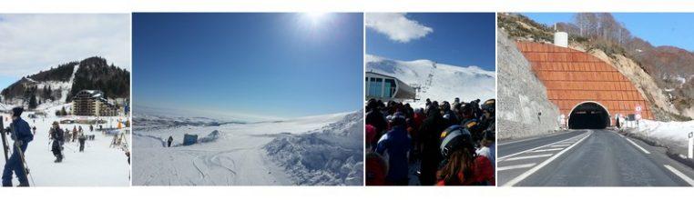 Skier au Lioran et dormir à l'Enclos du puy Mary
