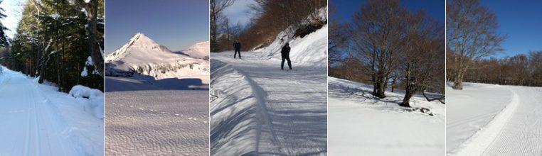 Séjour raquettes et ski de fond à l'Enclos du Puy Mary