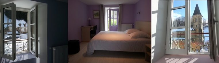 Chambres Petite Rhue de  l'Enclos du Puy Mary hotel 3 étoiles