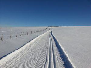Séjour Ski de fond à l'Enclos du Puy Mary