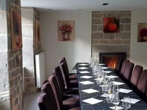 Salle de restaurant pour un groupe Enclos du Puy Mary